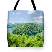 Tail Of The Dragon Scenic Road In Great Smoky Mountains Tote Bag