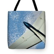 Tail Of The Airplane Tote Bag