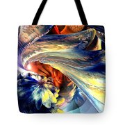 Tailed Beast Abstract Tote Bag