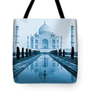 Taj Mahal - Agra - India Tote Bag