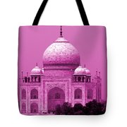 Pink Taj Mahal, Agra, India Tote Bag