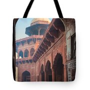 Taj Mahal Jawab Tote Bag by Inge Johnsson