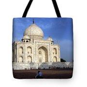 Taj Mahal Love Tote Bag
