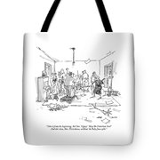 Take It From The Beginning. Act One. 'gypsy.' Tote Bag