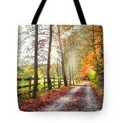 Take The Back Roads Tote Bag