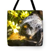 Take Time To Smell The Flowers Tote Bag
