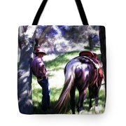 Taking A Break Tote Bag