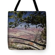 Taking In The Grand View Tote Bag
