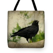 Blackbird Is Taking It All In Tote Bag