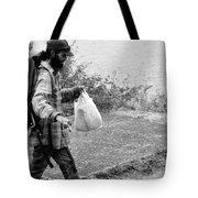 Taking My Pet For A Walk Tote Bag