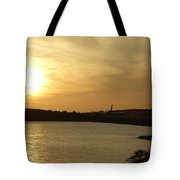Taking Off Into The Sunset Tote Bag