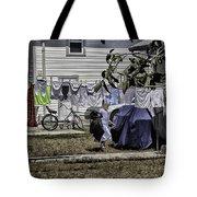Taking Out The Garbage - Sarasota - Florida Tote Bag