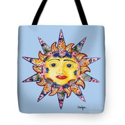 Talavera Sun-blue Tote Bag