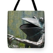 Talking Frog Tote Bag