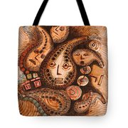 Talking Gourds   Tote Bag