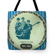 Talking Heads '79 Tote Bag