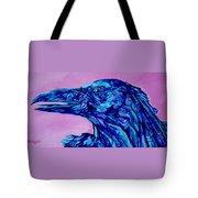Talking Raven Tote Bag