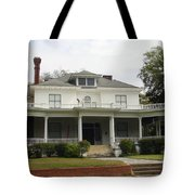 Tall Chimney House Tote Bag
