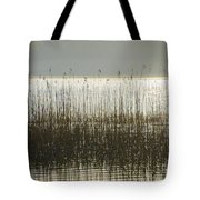 Tall Grass On Lough Eske - Donegal Ireland Tote Bag