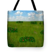 Tall Grass Prairie National Reserve Tote Bag