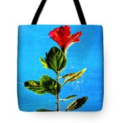 Tall Hibiscus - Flower Art By Sharon Cummings Tote Bag