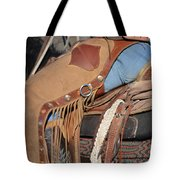 Tall In The Saddle II Tote Bag