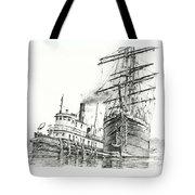Tall Ship Assist Tote Bag