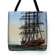 Tall Ship Beauty Tote Bag