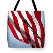Tall Ship Flag Tote Bag