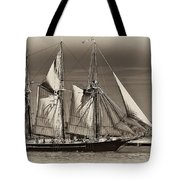 Tall Ship II Tote Bag