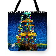 Tall Ship Jose Gasparilla Tote Bag