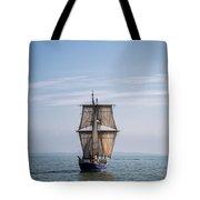 Tall Ship Sailing Tote Bag by Dale Kincaid