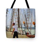 Tall Ship Sailor Duty Tote Bag