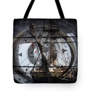 Tall Ship With Compass 2013 Tote Bag