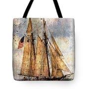 Tall Ships Art Tote Bag