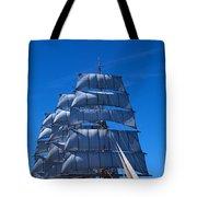 Tall Ships Race In The Ocean, Baie De Tote Bag