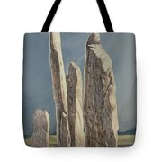 Tall Stones Of Callanish Isle Of Lewis Tote Bag