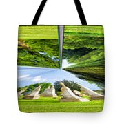 Tall Tombstones Polar View Tote Bag