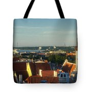 Tallinn Old Town 3 Tote Bag