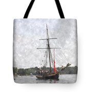 Tallship Providence Prwc Tote Bag