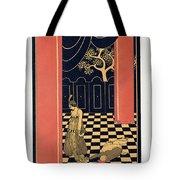 Tamara Karsavina Tote Bag by Georges Barbier