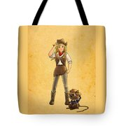 Tammy And Alfred Tote Bag