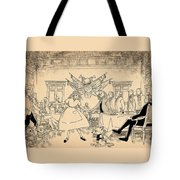 Tammy In Indpendence Hall Tote Bag by Reynold Jay