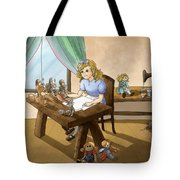 Tammy The Little Doll Girl  Tote Bag
