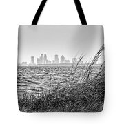 Tampa Across The Bay Tote Bag by Marvin Spates