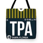 Tampa Airport Poster 1 Tote Bag