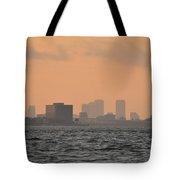 Tampa At Sunrise Tote Bag