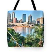 Tampa Bay Florida Tote Bag