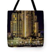 Tampa Marriott Waterside Hotel And Marina Tote Bag