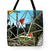 Tampa Seen Through Art Tote Bag